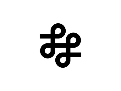 LL monogram loop logo