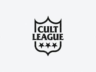 Cult League football fashion podcast branding sports stars logo shield league cult