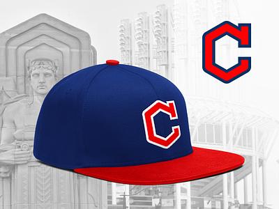 Cleveland Guardians - Concept hexagon c monogram hat baseball guardians cleveland
