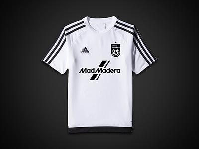 Mad Madera Threads tucson blackandwhite crest badge logo adidas uniform jersey football soccer sports