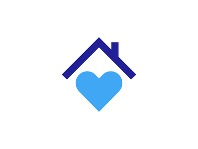 Carebuilders at Home care love heart house home