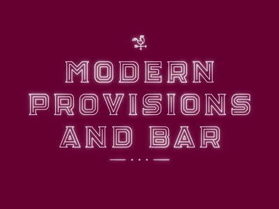 Modern Provisions And Bar type custom