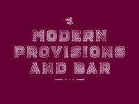 Modern Provisions And Bar