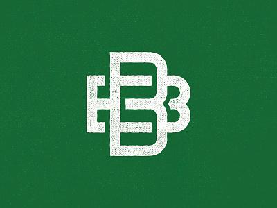 BB letters monogram bb