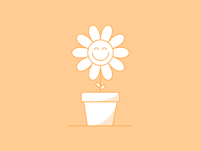 Character Study 1 smile flower