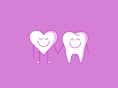 Character Study 3 dental tooth heart smile