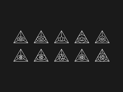 Lotus / Eye / Pyramid symmetry third eye illuminati pyramid masonic eye flower lotus all seeing eye sacred geometry triangle