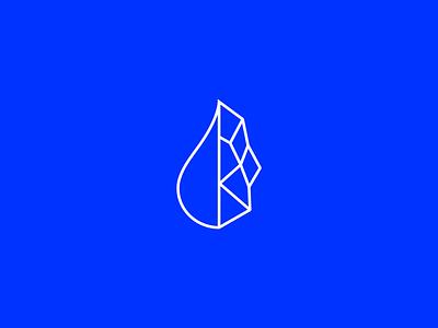 Droplet/Gem salt desalination mineral geometric water gem droplet