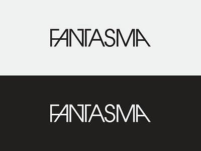 Fantasma wordmark avant garde fantasma