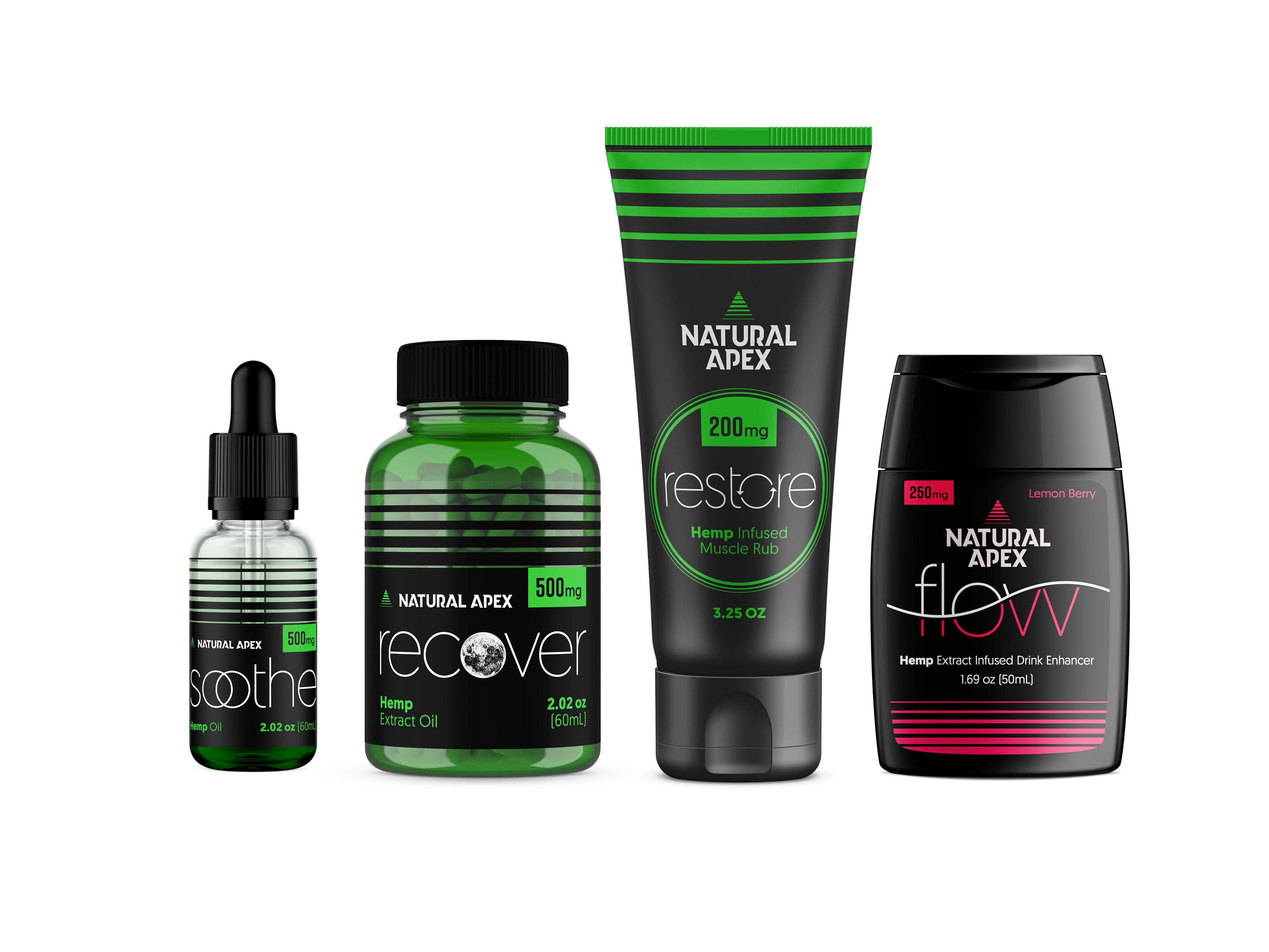 Naturalapex packaging