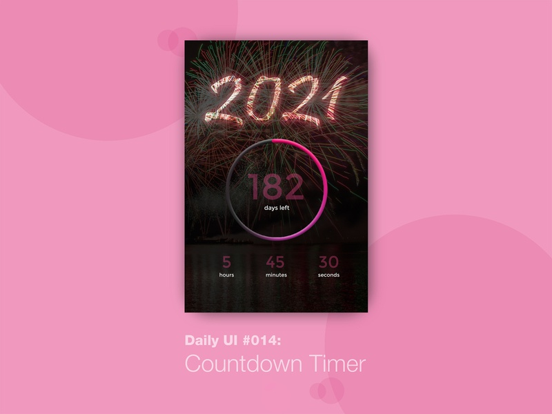 Daily UI #014: Countdown Timer dailyui uiux happy learning 100daychallenge learning is fun daily challenge design challenge countdowntimer ui challenge ui 100 days challenge 100 days of ui