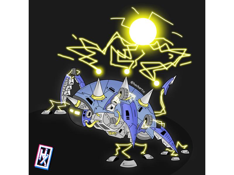 My Robot 0005 bitmap terminator retro robotics transformers machine art robot illustration robot illustration horizon cyberpunk concept art cartoon illustration cartoon artwork