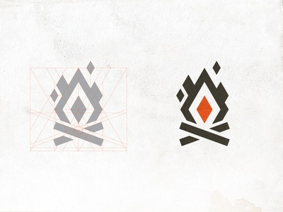 Bonfire Red identity logo