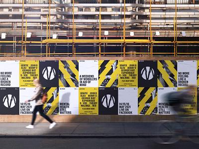 Mental Health Still Matters brand identity branding brand identity poster poster wall billboard mentalhealth mental health awareness mental health design branding