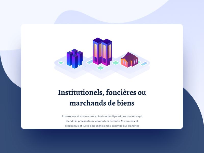Real Estate 🏬 website ux ui sun realestate purple illustration flat drawing building branding 3d