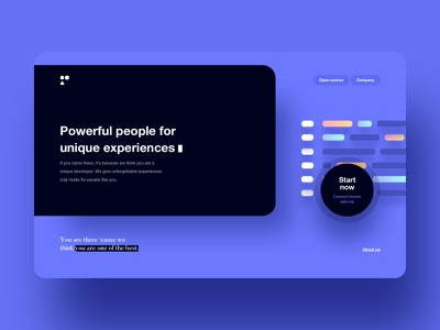 Some amazing project part.1 👩🏼🎨 typography school students experience people code website logo employee buttons business tool developers ui ux branding