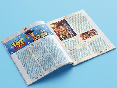 Toy Story 4 - Magazine Design cover design pixar pixar art pixelart disney prints magazine design magazine cover animation toy story icon typography pictogram logo illustration identity branding vector design art