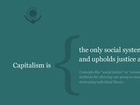 Capitalism is