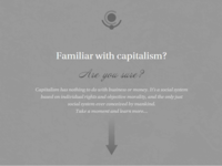 Familiar with capitalism?