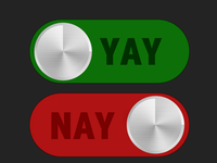 Yay Or Nay Switches