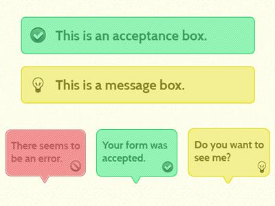 Simple Alert Boxes alert box html5 css3 tutorial hv-designs