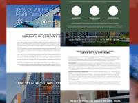 Investor Relations App - Offering Website
