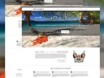 Tequila Sales Website responsive wordpress square e-commerce margarita tequila