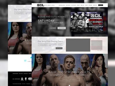 Sparta Combat League Website