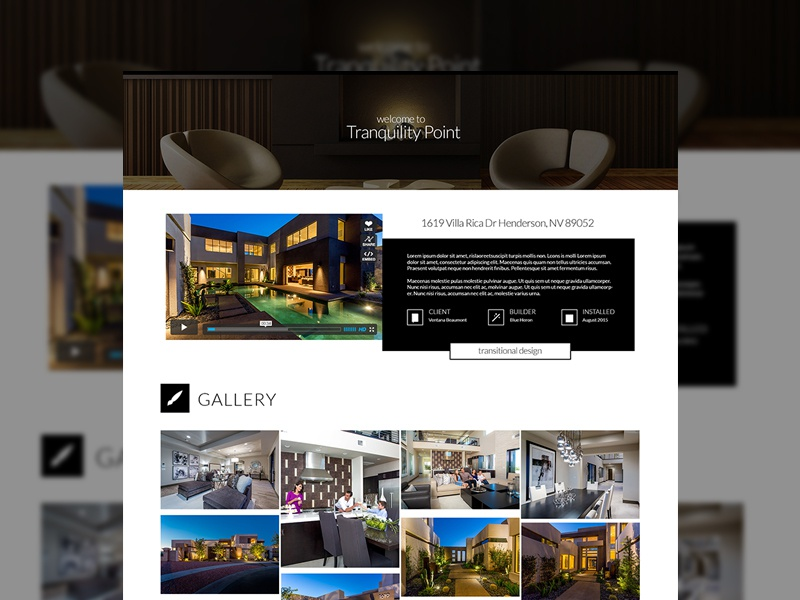 Interior Design Project Page long time no see portfolio project page interior design website design