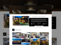 Interior Design Project Page