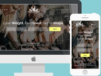Exercise Video Library - Landing Page