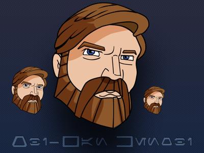 Obi Wan Kenobi Icon obi-wan star wars icons freebies