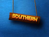 Southern, splash screen and logo design