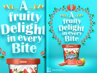 Nestle Frozen Fruit Yogurt