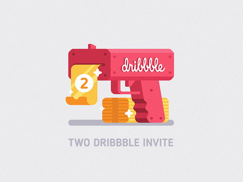 Two dribbble