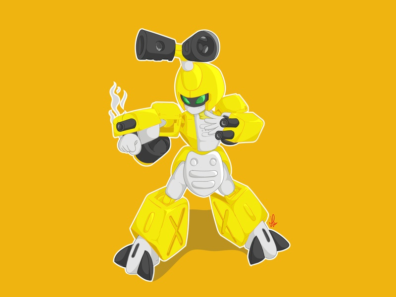 Metabee Illustration cartoon illustration vector illustration drawing design