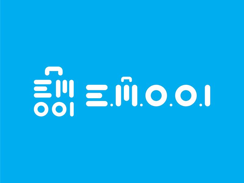 e.m.o.o.i Logo project logos logotype logo design logo minimal typography branding design