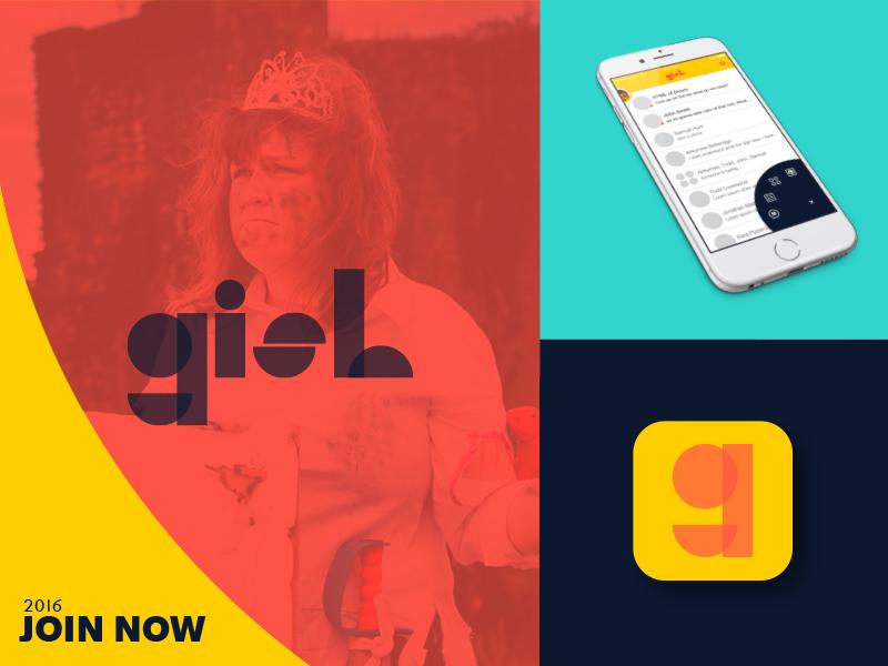 G.I.S.H.W.H.E.S. ad concept ad app ui branding