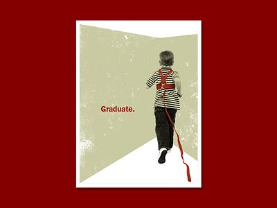 Graduate poster design screenprint poster