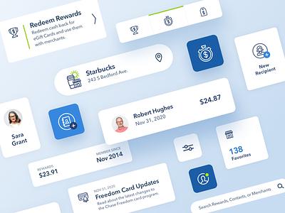 Fintech Financial App UI Design daily ui web design branding app financeapp finance app financial app fintech flat icon mobile ui ux design web website