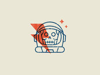 Dead Astronaut Icon Space Icon