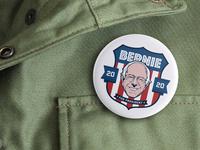 Bernie Sanders Pin