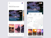 Daily UI - Travel App UI