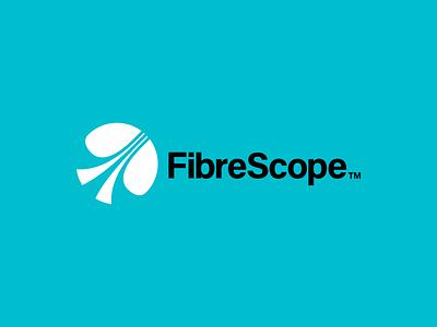 FibreScope identity graphic design branddesign brandidentity acumin timeless dynamic logomark logotype modernism modern vector illustration design minimal illustrator clean mark logo branding