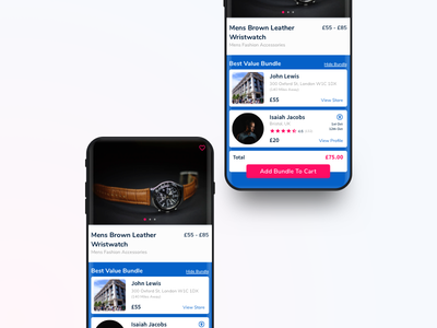 YAO Shipping App - Product Page schedule planning sale product travel shopping e-commerce design ios app ux ui