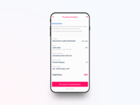 YAO Shipping App - Confirm Purchase #2
