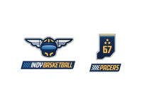 Indiana Pacers Rebrand - Secondary Logos