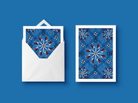 Buenos Aires Pattern Greeting Cards