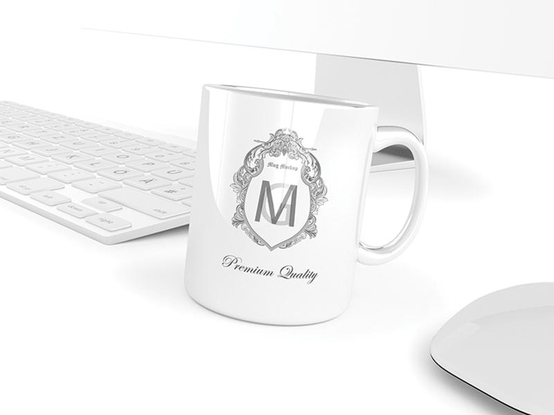 Mug / Cup PSD Mockups (FREE PSD) mug cup coffee design identity mockup mockups logo psd graphic free freebie