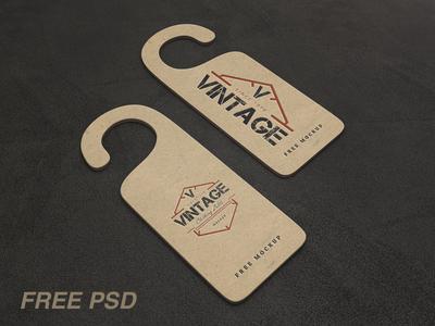 Vintage Label Psd Mockups (FREE PSD)